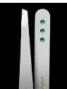 Swarovski Crystal Emerald Tweezers