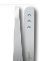 Swarovski Crystal Aquamarine Tweezers